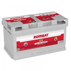 Acumulator auto Rombat EFB 65Ah,650A, Functie Start - Stop,Gama Ford
